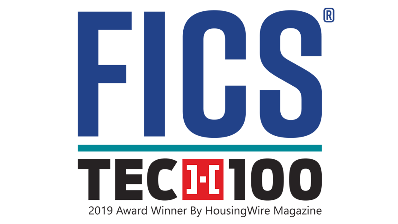FICS® Named to HousingWire's HW TECH100 List for Sixth Consecutive Year